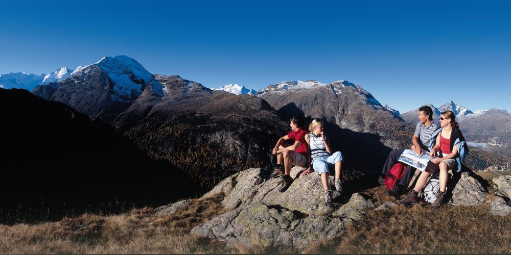 hiking mountain climbing hotel schweizerhof pontresina